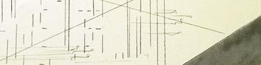Close up of wall drawing